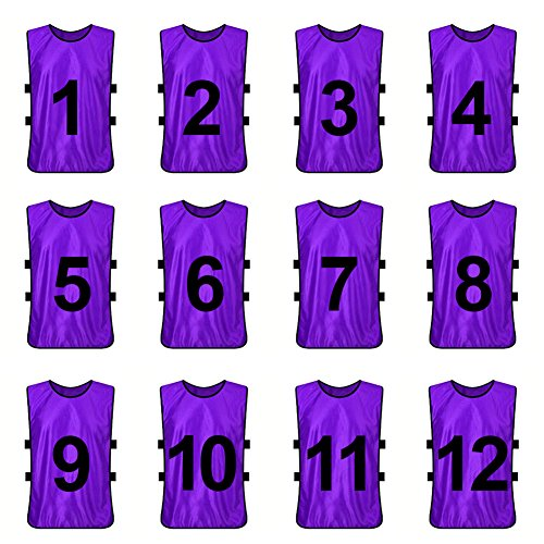 TopTie Numbered Training Soccer Pinnies product image