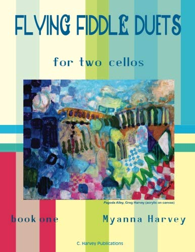 Flying Fiddle Duets for Two Cellos, Book One ()