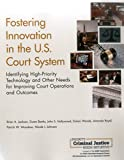img - for Fostering Innovation in the U.S. Court System: Identifying High-Priority Technology and Other Needs for Improving Court Operations and Outcomes book / textbook / text book