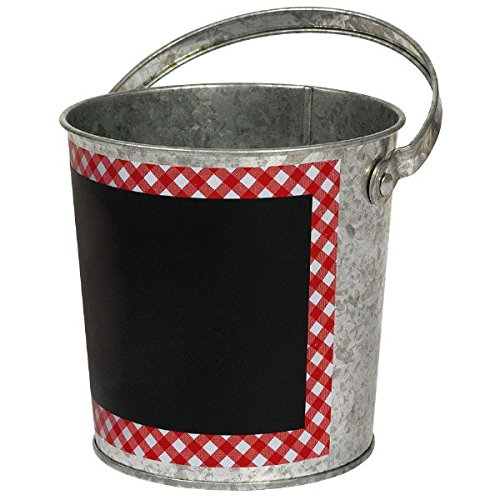 amscan Picnic Party Chalkboard Bucket,