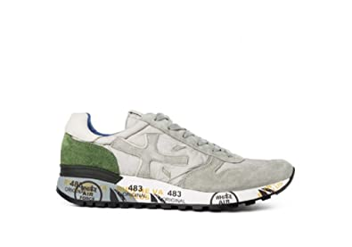 PREMIATA , Herren Sneaker grau Grau   Grün, grau - Grau   Grün - Größe 8b39780cb0