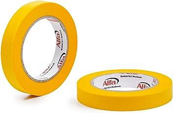 4, 18mm x 50m 4x FineLine GOLD Washi Tape d/ünnes impr/ägniertes japanisches Reispapierband PREMIUM-Klebeband