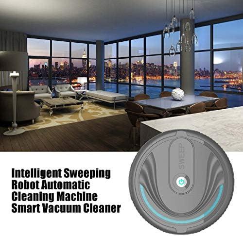 Mdsfe Intelligent Balayage Robot Maison Machine De Nettoyage Automatique Paresseux Intelligent Aspirateur Vadrouille Mini - Blanc, a2