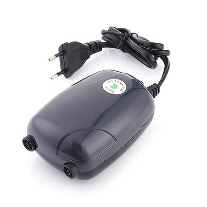 HEMCER Silencio Tranquilo Acuario Bomba de aire, Bomba ultrasónica Bomba de oxígeno ultra silenciosa para