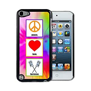 IPod 5 Touch Case Thinshell Case Protective IPod 5G Touch Case Shawnex Love Peace Lacrosse
