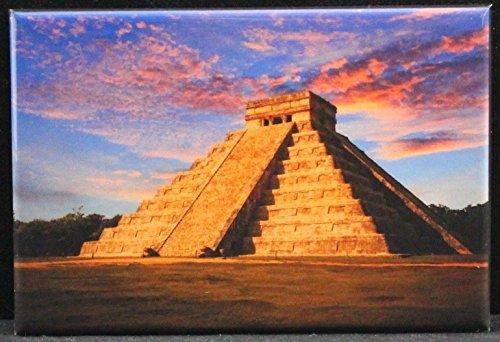 Chichen Itza Refrigerator Magnet. Mexico (Best Chichen Itza Tour)