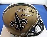Autographed Rickey Jackson New Orleans Saints Mini Helmet - with COA