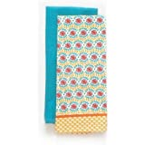 Dainty and Cheerful Daisy Chain 2-Pack Kitchen Towel