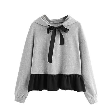 bf06d1321f48 Sweat Shirt à Capuche Femme Chic