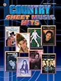 country sheet music - Country Sheet Music Hits: Piano/Vocal/Chords