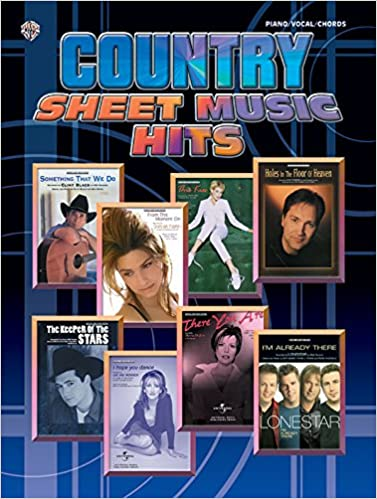 Country Sheet Music Hits: Piano/Vocal/Chords: Alfred Music