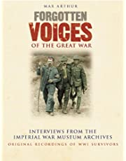 Forgotten Voices of WWI Audio Box Set: In Association with the Imperial War Museum RC-626
