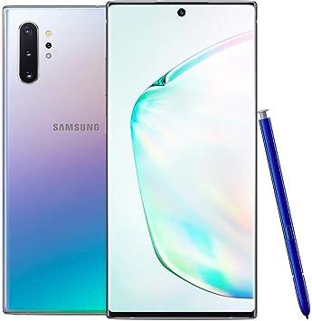 Samsung Galaxy Note 10+ N975F/DS 256 GB, pantalla dinámica AMOLED de 6,8 pulgadas, 12 GB RAM, cámara cuádruple, 4 K UHD desbloqueado de fábrica LTE Smartphone: Amazon.es: Electrónica