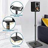 PERLESMITH Universal Speaker Stands Height