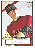 2007 Topps 52 (1952 Rookie Edition) # 30a Hunter Pence (RC - Rookie Card) - Houston Astros - MLB Baseball Trading Card - Shipped in a Protective Display Case!