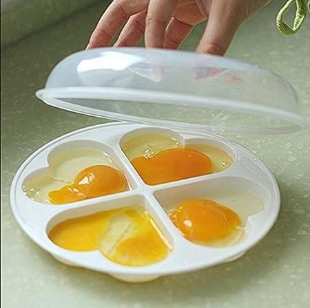 Escalfador de huevos para microondas poached eléctrica de BPA ...