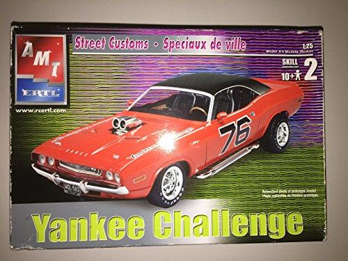 AMT Ertl Yankee Challenge (Street Customs) Dodge Challenger 1:25 Scale Model Kit ()