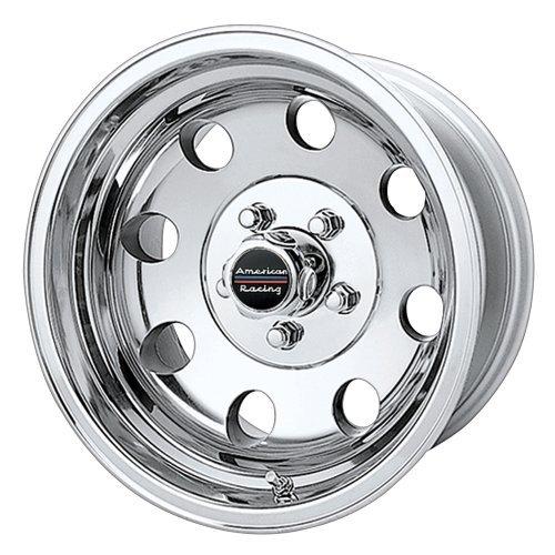 Polished Baja American Racing (American Racing Custom Wheels AR172 Baja Polished Wheel (15x10/5x139.7mm, -43mm offset) by American Racing)