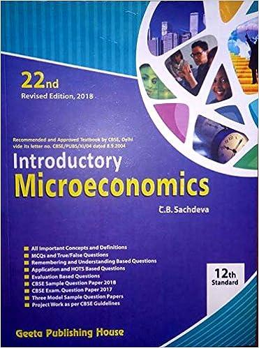 microeconomics sample questions
