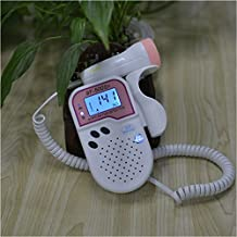 Sweety monitor listen heartbeat sound 2Mhz probe LCD display