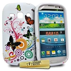 Accessory Master 5055716334951 - Funda para Samsung Galaxy Fame, color Blanco