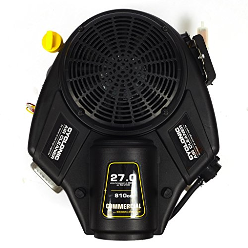 briggs-stratton-49t877-0004-g1-commercial-turf-series-27-gross-hp-810cc-v-twin-with-cyclonic-air-filter-and-1-18-inch-by-4-516