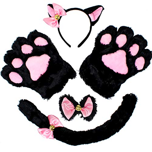 5 pcs Kitten Kitty Cat Costume Accessories