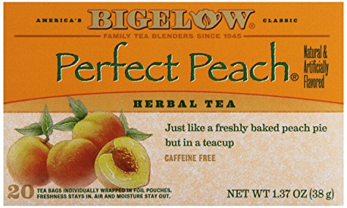 Bigelow Tea Peach Tea, 20 Count