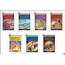 Harry Potter Adult Hardcover Boxed Set 1-7 Complete Box Set