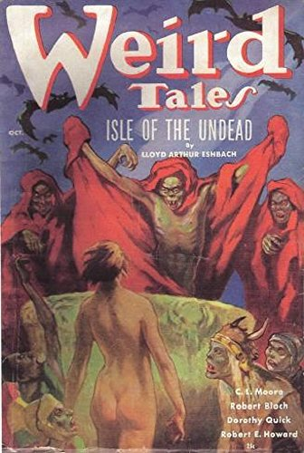 Weird Tales - A Magazine of the Bizarre and Unusual - October 1936 (Illustrated): Volume 28 No. 3