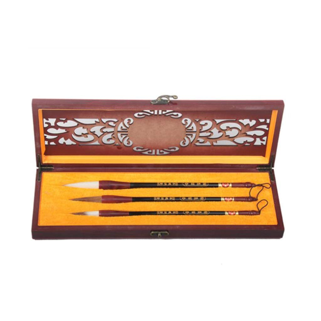 QTT Writing Brush, Gift Box Set, Chinese Traditional Calligraphy Pen, Large Calligraphy Pen
