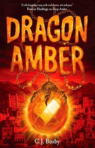 book cover of Dragon Amber