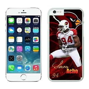 NFL Arizona Cardinals Sam Acho Case Cover For SamSung Galaxy S4 White NFL Case Cover For SamSung Galaxy S4 13660