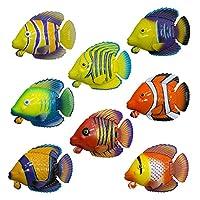 Juguete acuático SwupWays Rainbow Reef Guppies Pull-String, variación