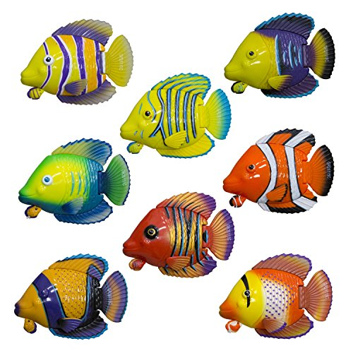 (SwimWays Rainbow Reef Guppies Pull-String Water Toy - Style May Vary)