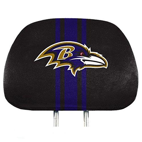 - NFL Baltimore Ravens Full-Print Head Rest Covers, 2-Pack