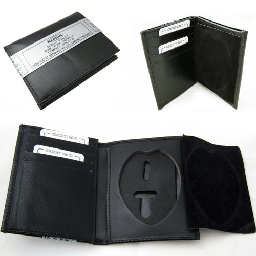 Leather Wallet Sheriff Officer Security product image
