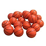 Yatim 15 Pcs Toys Bouncy Basketball Relax 1.18 Inch Balls Small Gifts for Children