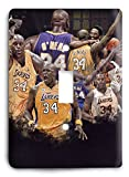 Shaq ONeal Laker Legend Light Switch Cover