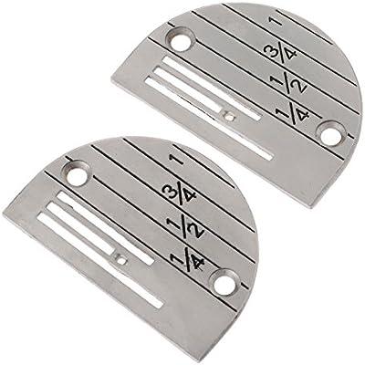 B18 placa de agujas para máquina de coser Industrial: Amazon.es ...