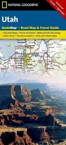 Utah (National Geographic: Guide Map)