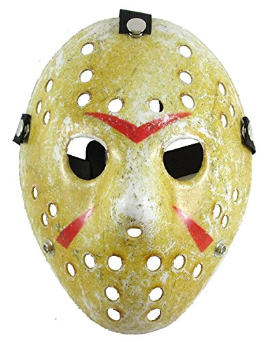 Lovful Costume Mask Cosplay Halloween Prop Party Mask for Adult,Yellow Style,One Size ()