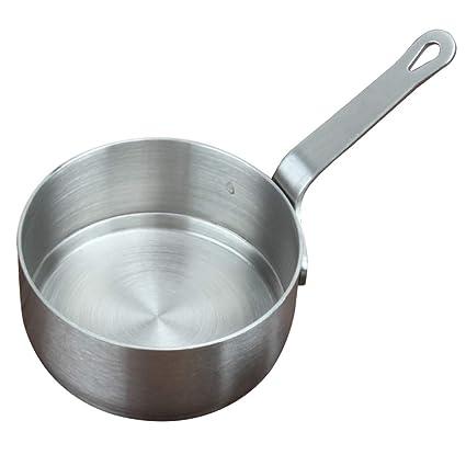 Cacerola pequeña, mini cacerola de acero inoxidable, calentador de leche de mantequilla, utensilios de cocina small As Picture Show