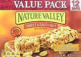 Nature Valley Sweet & Salty Nut Granola Bar Peanut Value Pack 12-1.2 oz Bars