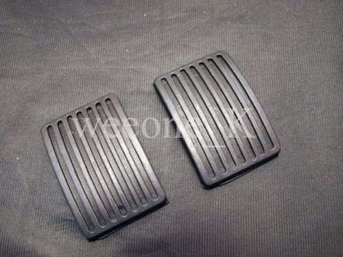 1 Pair Rubber Pedal Pad for Brake and Clutch Mitsubishi L200 Cyclone Pickup / Mitsubishi Mighty Max Pickup 1987-1996