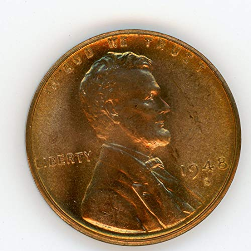1948 S Lincoln Cent MS-65