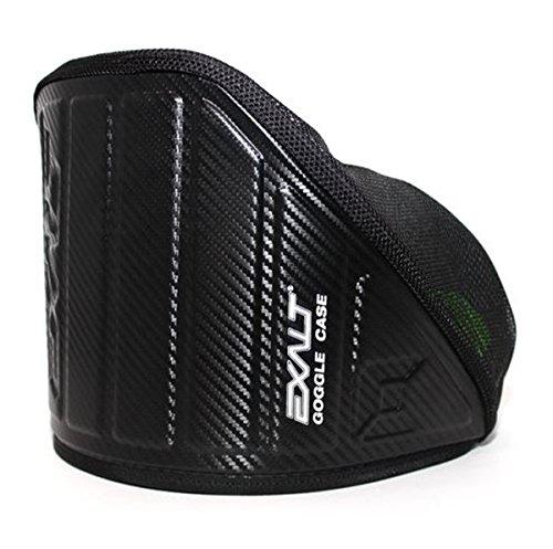 Exalt Paintball Carbon Series Goggle Case - Black / Lime