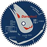 Bosch DCB1072 Daredevil 10-Inch 72-Tooth Laminate Flooring, Laminated Panels and Melamine Circular Saw Blade