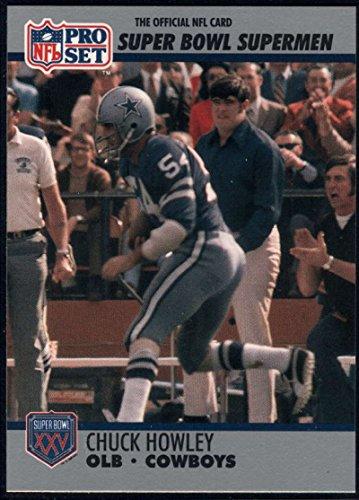 Football NFL 1990-91 Pro Set Super Bowl 160 #98 Chuck Howley NM-MT ()