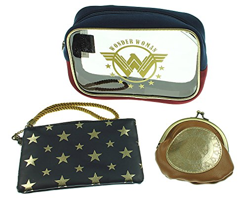 DC Comics Wonder Woman Juniors Cosmetic Make Up Bag